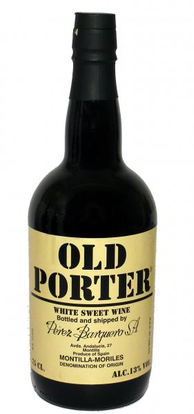 Old Porter White sweet wine 13%