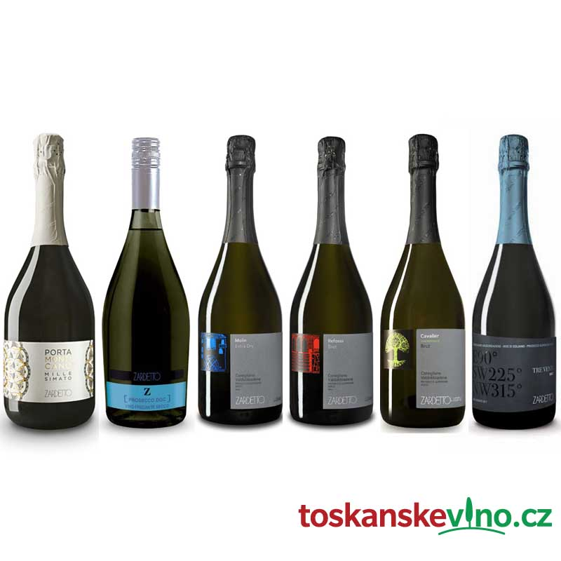 Prosecco Zardetto set 6ks