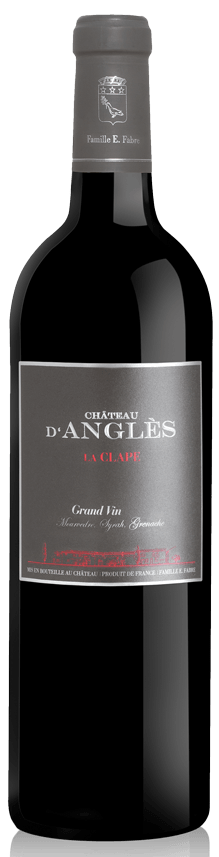 Grand Vin rouge La Clape 2015 Magnum - Chateau d'Angles